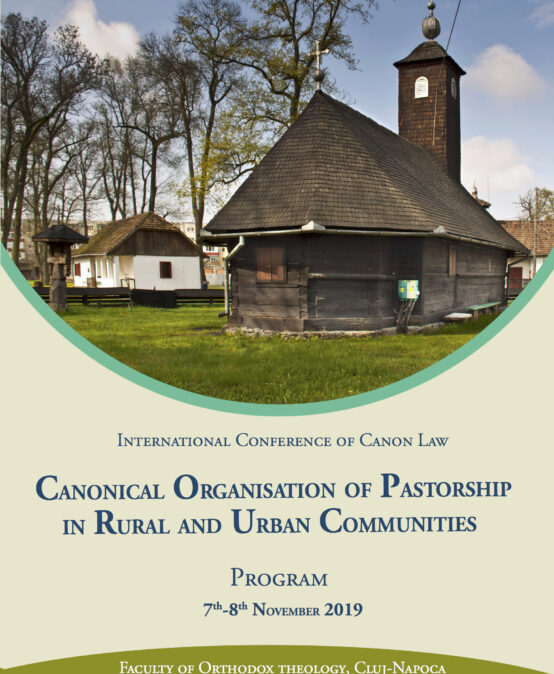 International Conference: Canonical Organisation of Pastorship in Rural and Urban Communities